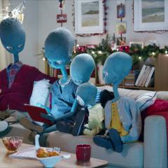 Argos Aliens Twitter Campaign