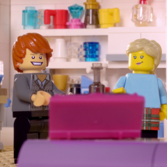ITV LEGO AD BREAK: BT