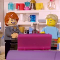 ITV LEGO AD BREAK: BT